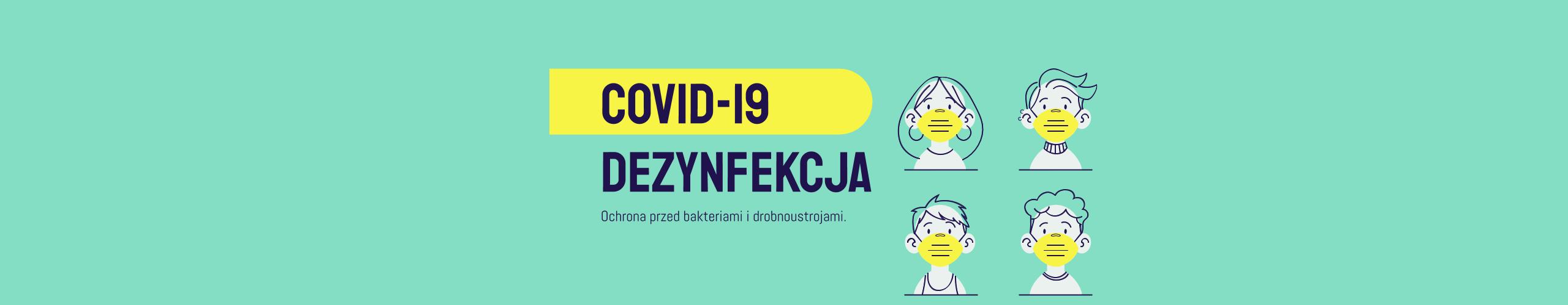 Dezynfekcja COVID-19